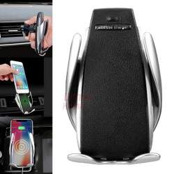 Automobilinis telefono laikiklis su bevieliu krovimu S5