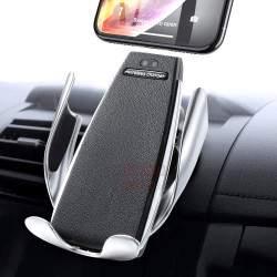 Automobilinis telefono laikiklis su bevieliu krovimu S5e