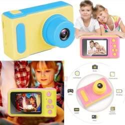 Vaikiškas fotoaparatas su ekranu Summer Vacation