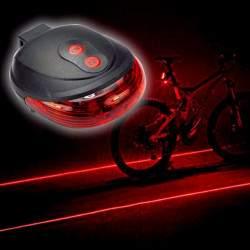 Lazerinis galinis žibintas dviračiui SB96