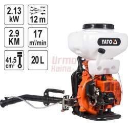 Benzininis purkštuvas YATO 2,9 KW 20 L