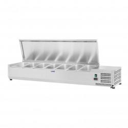 Vitrininis šaldytuvas Royal Catering 160x39 cm