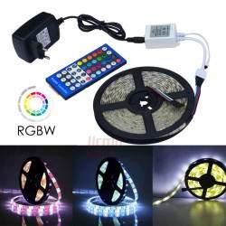 Profesionalus LED juostos rinkinys, 5050 RGB+W LED su pulteliu