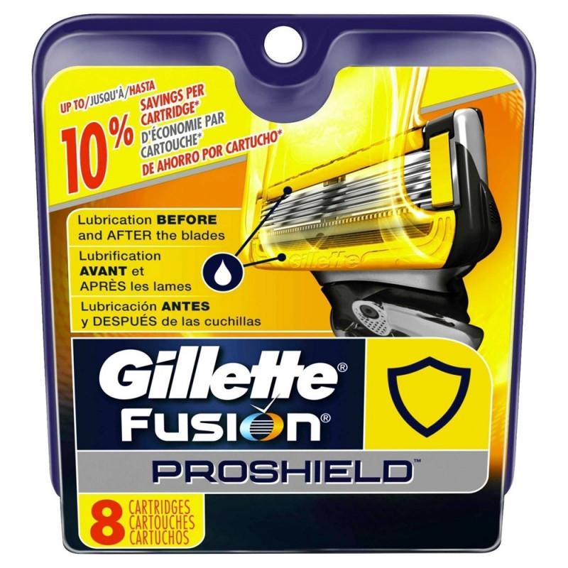 Gillette Fusion Proglide ProShield skutimosi peiliukai 8 vnt