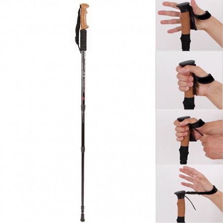 Vaikščiojimo lazdos X1+ su kamštinėm rankenomis