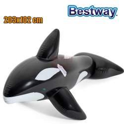 Didelis pripučiamas banginis Bestway 203x102cm