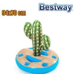 Plaukiojantis gėrimų laikiklis kaktusas Bestway 94x70 cm