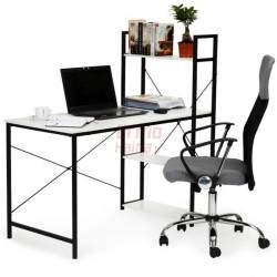 Kompiuterio stalas su lentynomis Loft 3012