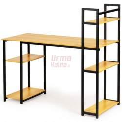 Kompiuterio stalas su lentynomis Loft 3025