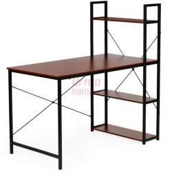 Kompiuterio stalas su lentynomis Loft 3032