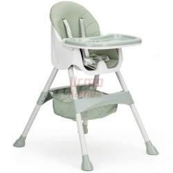Maitinimo kėdutė H3 2in1, žalia
