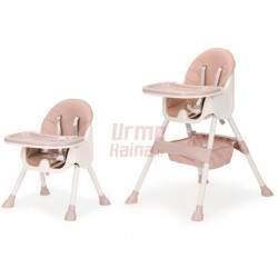 Maitinimo kėdutė H3 2in1, rožinė