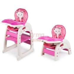 Maitinimo kėdutė C13in1, rožinė
