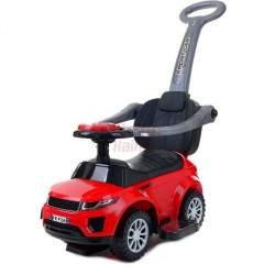 Paspiriamas vaikiškas automobilis FUNFIT KIDS 3IN1 raudonas