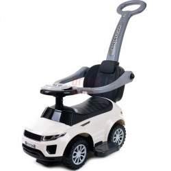 Paspiriamas vaikiškas automobilis FUNFIT KIDS 3IN1 baltas