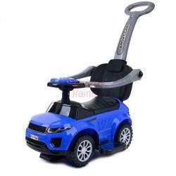 Paspiriamas vaikiškas automobilis FUNFIT KIDS 3IN1 mėlynas