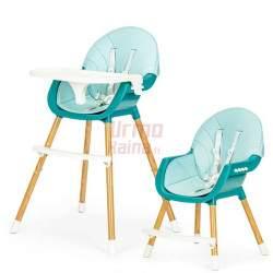 Maitinimo kėdutė H4 2in1, mėlyna
