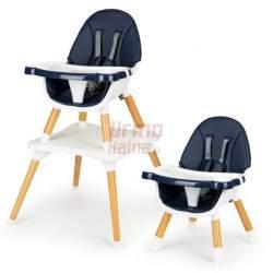 Maitinimo kėdutė B6 3in1, mėlyna