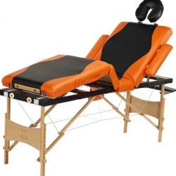 Masažinis stalas BodyFit 045 oranžinis