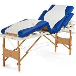 Masažinis stalas BodyFit 043 mėlynas