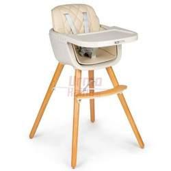 Maitinimo kėdutė C2 2in1, kreminė