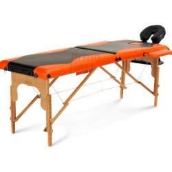 Masažinis stalas BodyFit 041 oranžinis