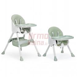 Maitinimo kėdutė H3S 2in1, žalia