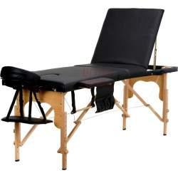 Masažinis stalas BodyFit 456 juodas