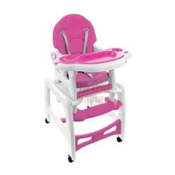 Maitinimo kėdutė FunFit 5in1 rožinė