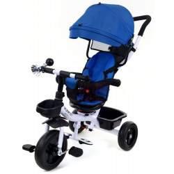 Vaikiškas triratukas FUNFIT KIDS TWIST mėlynas