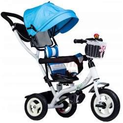 Vaikiškas triratukas J9L, mėlynas