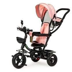 Vaikiškas triratukas J9D, rožinis