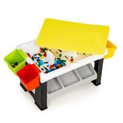 Žaidimų stalas su kaladėlių rinkiniu H6