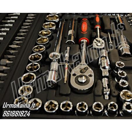 Įrankių galvučių komplektas NEX GERMAN 108 dalių