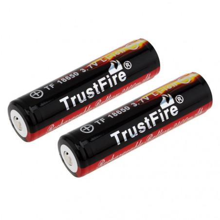 TrustFire akumuliatorius 18650 2400mAh | 18650 baterija