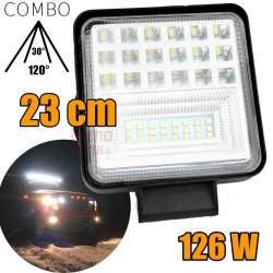 LED darbinis žibintas 126W COMBO