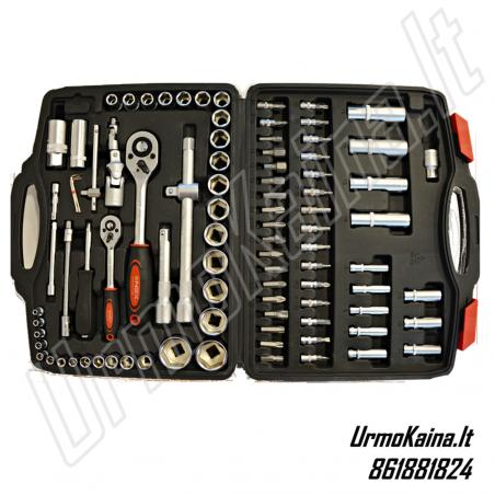 Įrankių galvučių komplektas NEX German 94 dalių