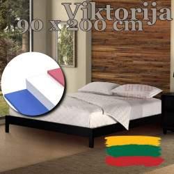 """Čiužinys """"Viktorija"""" 90x200 cm (Aukštis: 21 cm, Kietumas: Vidutinis/Kietas)"""
