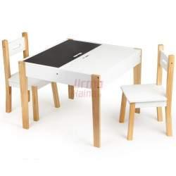 Žaidimų stalas + 2 kėdės O3