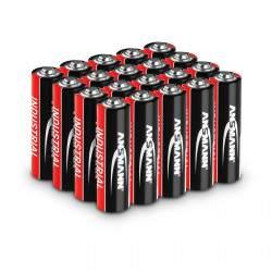 Pramoninės šarminės baterijos 20 x Mignon AA LR6 1.5 V