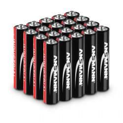 Pramoninės šarminės baterijos - 20 x micro AAA LR03 1.5 V