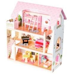 Medinis lėlių namas N1