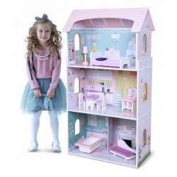 Medinis lėlių namas N6