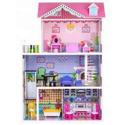 Medinis lėlių namas T4