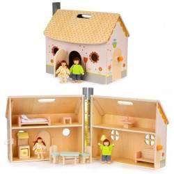 Medinis lėlių namas N9