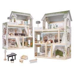 Medinis lėlių namelis su priedais LULILO BOHO
