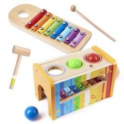 Medinis žaislas Cimbolai