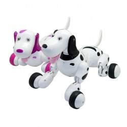 Interaktyvus šuniukas su pulteliu, rožinis