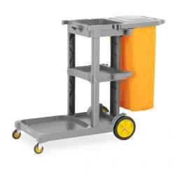 Valymo vežimėlis su skalbinių maišeliu UNICLEAN 13