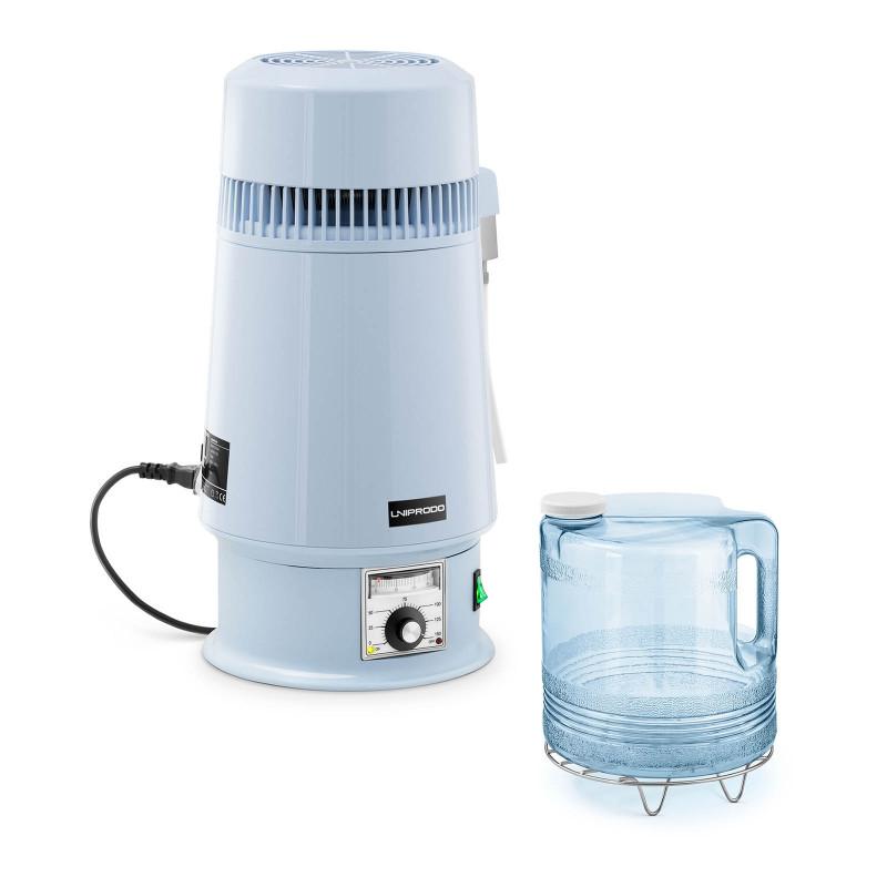 Vandens distiliatorius - 4 L - reguliuojama temperatūra UNI-WD-100